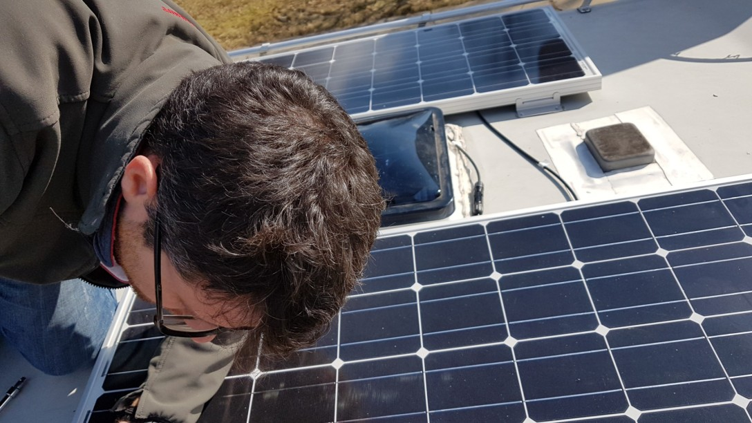 Solar panel b190